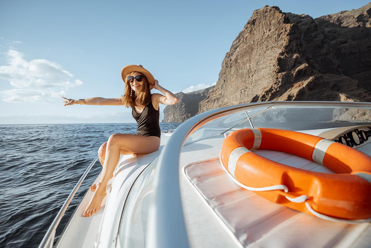 Прогулки на яхте на Тенерифе