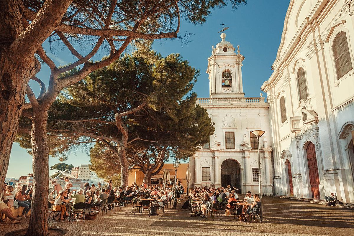 Кафе в Португалии