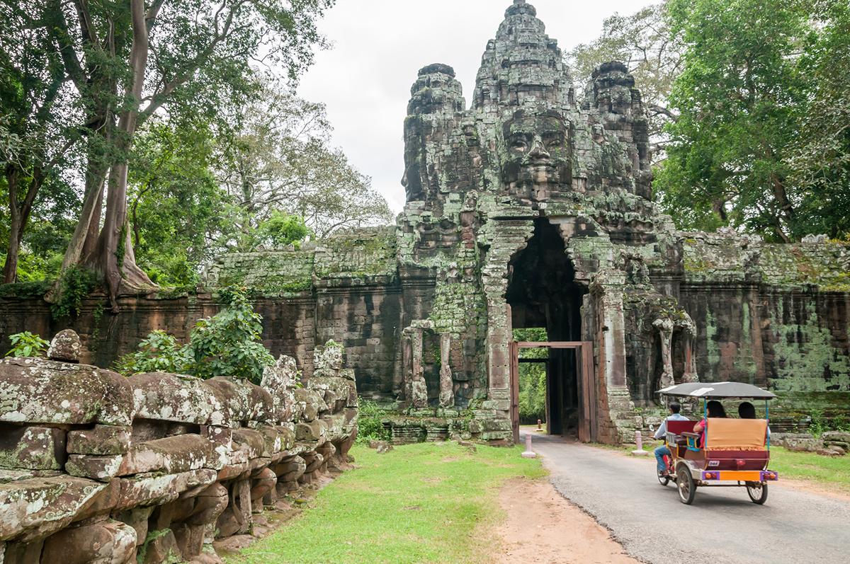 Ангкор Тхом в Сієм Ріпі, Камбоджа