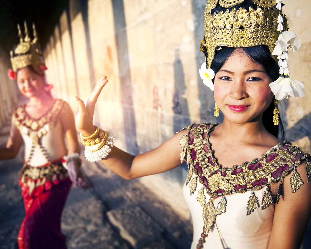 Традиційні танцюристи Апсара