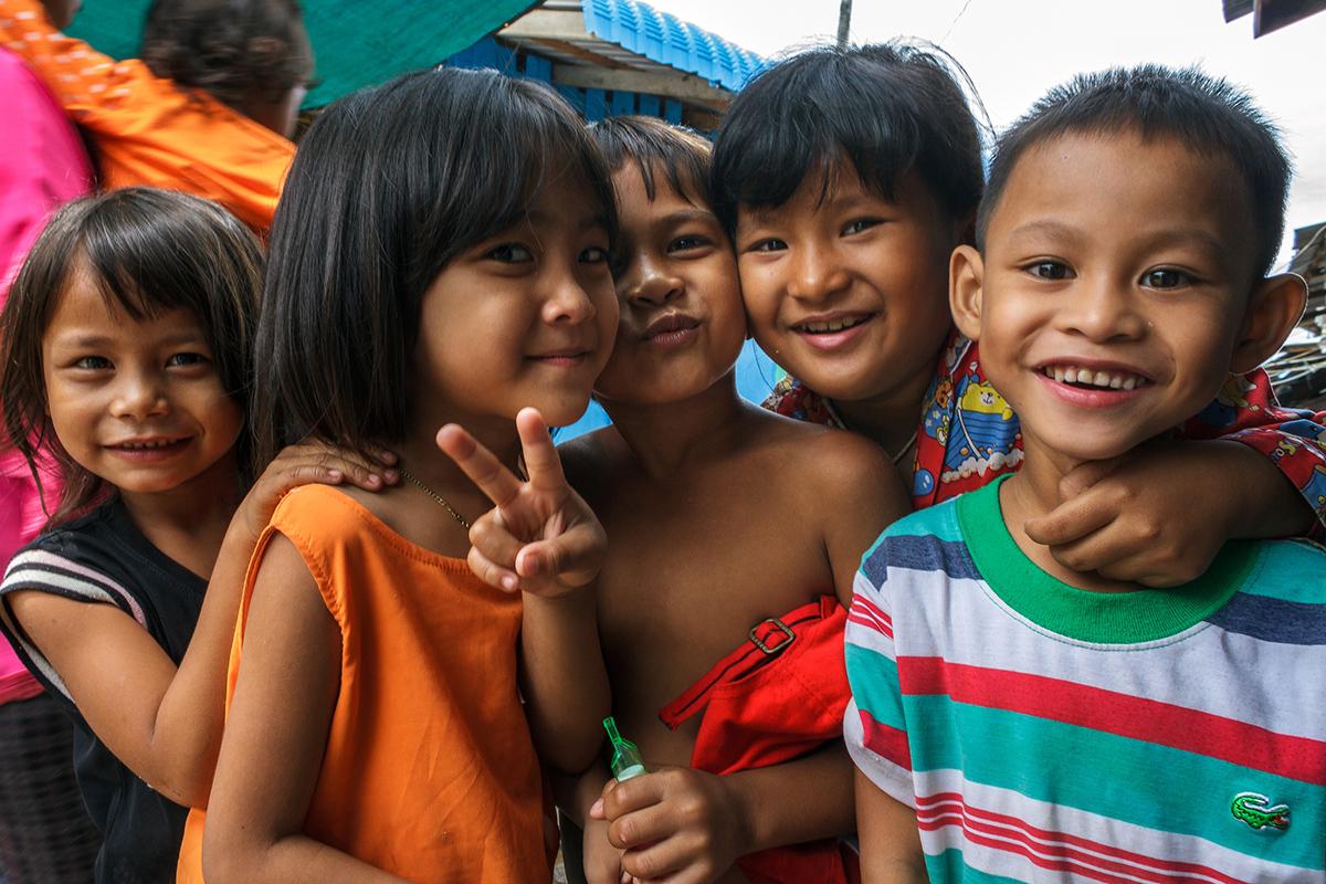 Діти в Камбоджі
