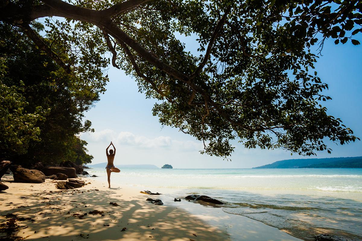 Пляжі в Камбоджі