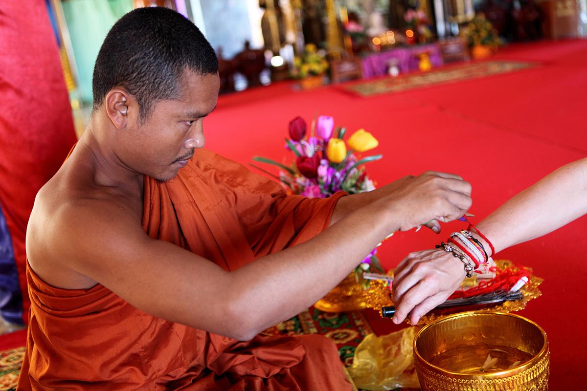 Буддійський монах в Камбоджі