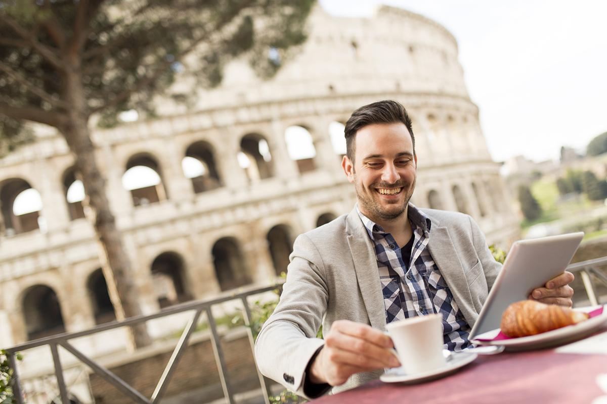 Кофе в Риме