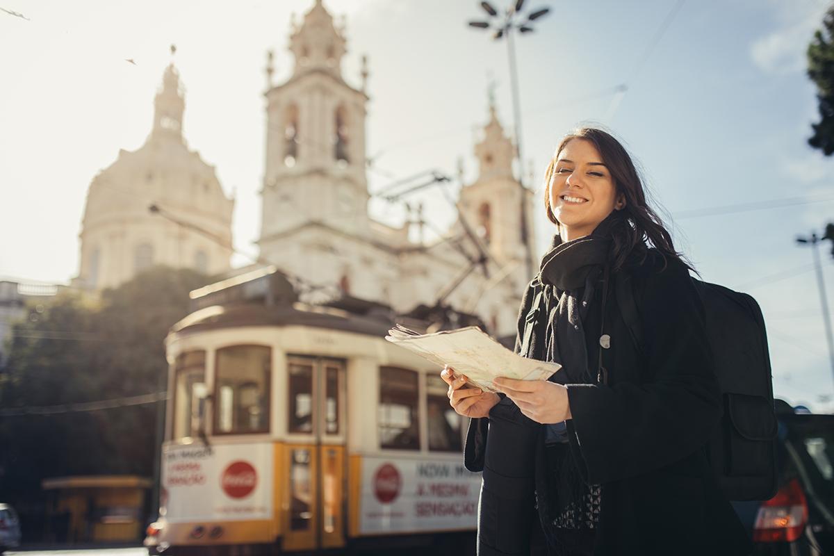 Зимой в Лиссабон
