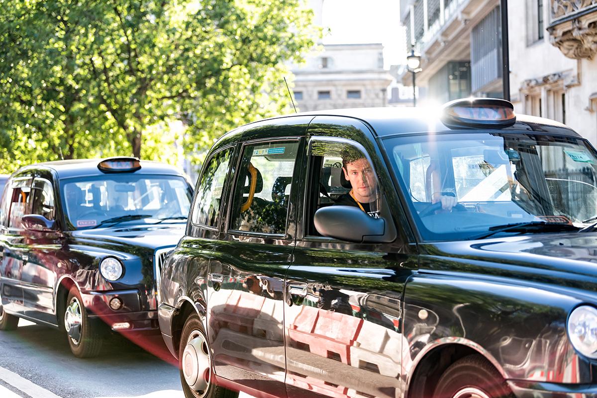 Таксисты в Лондоне