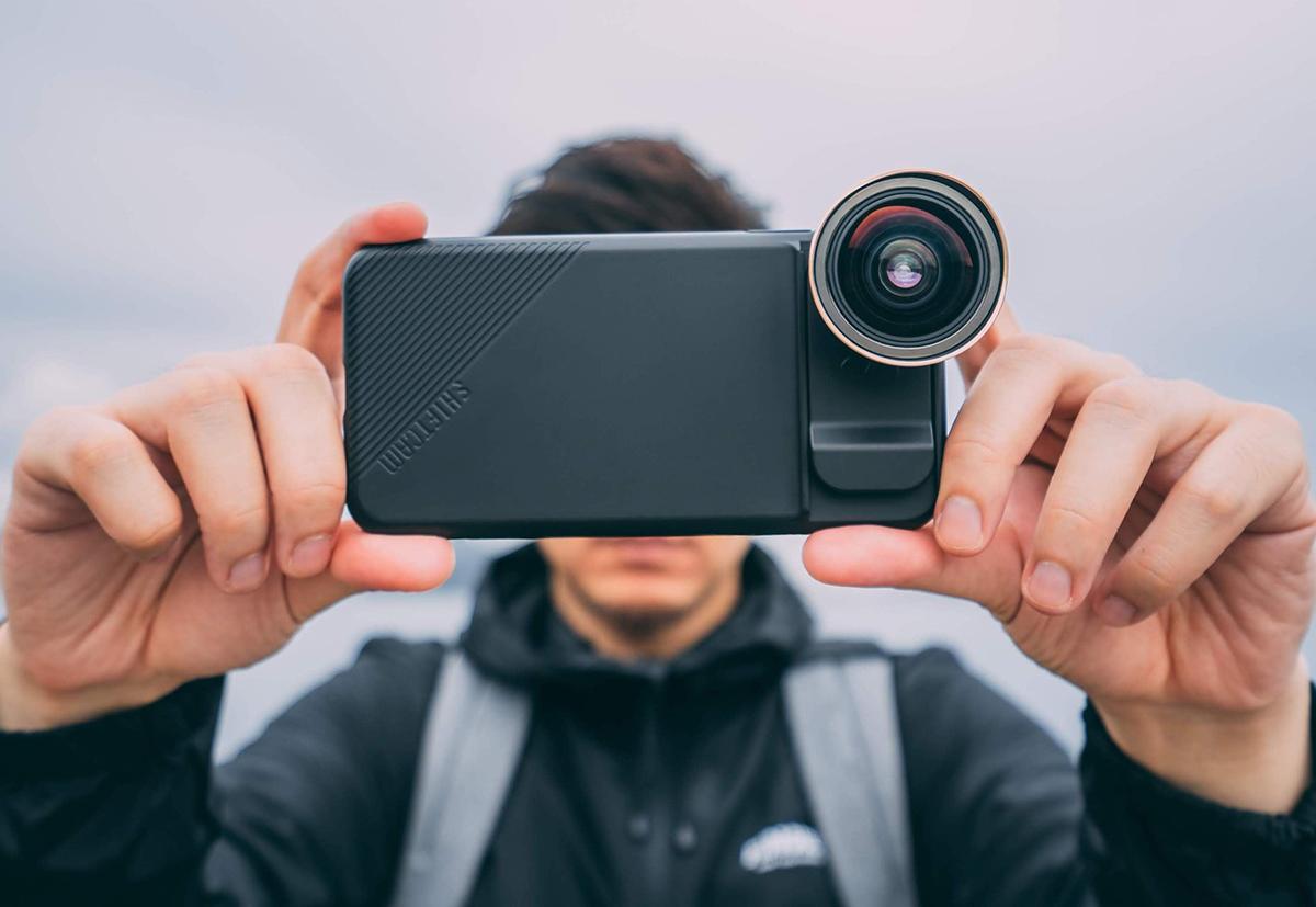 Широкоугольный объектив для смартфона